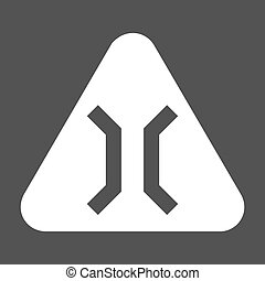 Bridge, gate, highway icon vector image. Can also be used...