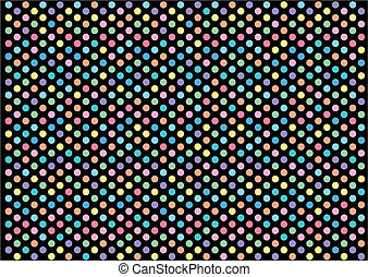 Mosaic abstract pixel points mosaic background