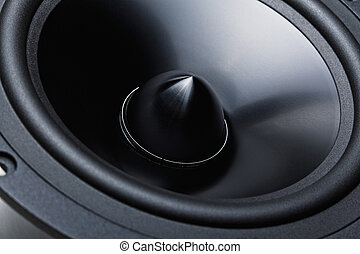 woofer - classic woofer speaker  background detail
