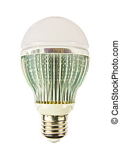 LED light bulbs - LED light bulbs on a white background