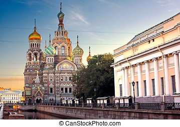 Church Of Savior On Spilled Blood - View Of Church Of Savior...