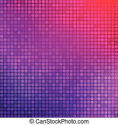 Abstract purple background with dots