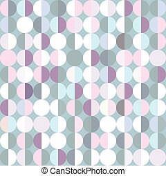 Geometric background with circles