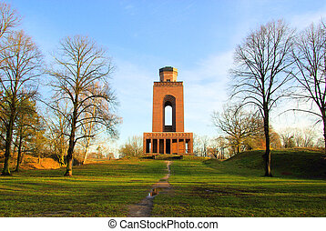 Burg Bismarck tower 01