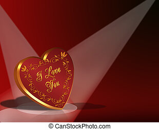 Valentines Day Background Heart