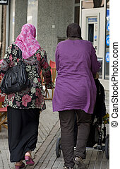 muslim in Manacor of Majorca in Spain