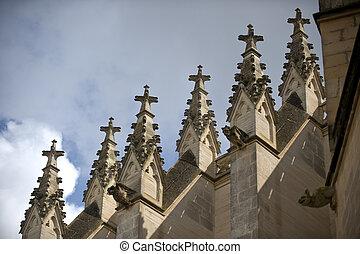 church in Manacor off Majorca in Spain