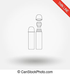 Thermos icon. - Thermos. Thin line icon for web and mobile...