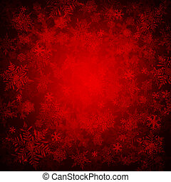 Christmas background - Red christmas background
