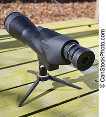 Long distance glass - High powered scope that is set up on a...