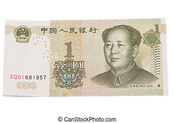 1 yuan chinese currency