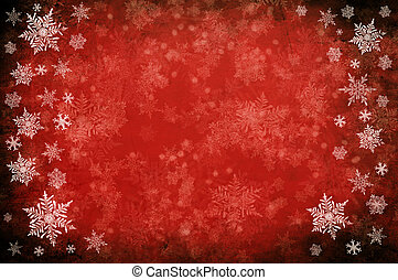 Red background - Red christmas background