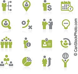 Human Resources. Natura - Icons for your web, mobile or...