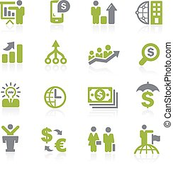 Business and Finance Natura - Icons for your web, mobile or...