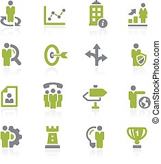 Business Strategies. Natura - Icons for your web, mobile or...