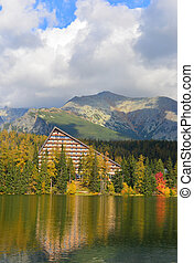 Strbskie pleso - Autumn in Tatry mountains