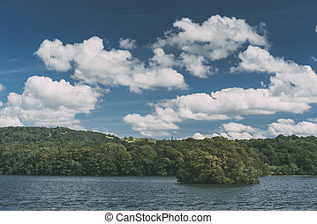 Lake Windermere, view from Bownness-on-Windermere Lake...