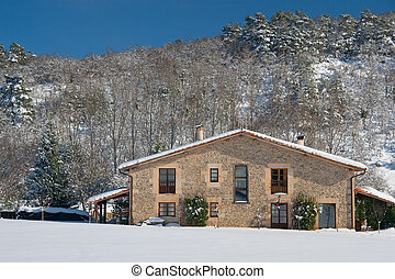 Farmhouse in Olano, Alava, Spain