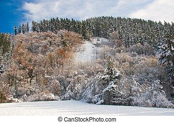 Mountains in Orozko, Bizkaia, Spain