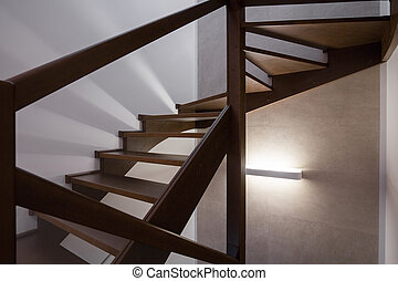 Modern design staircase - Image of modern design simple...