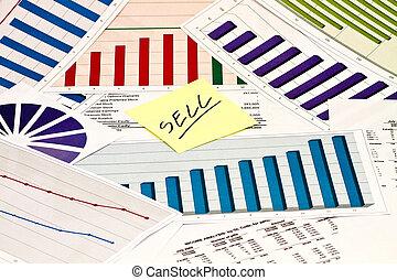 vendere, grafici, tabelle