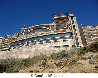 Cliffside Hotel - A hotel on top of cliffs in Gran Canaria