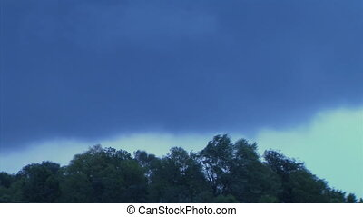 Storm Clouds Time Lapse - Time lapse of storm clouds passing...