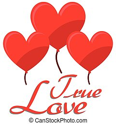Illustration Vector Graphic Hearts, Love and Romantic for...