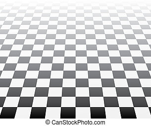 3D chess op art - Mosaic background illustration pop colours...
