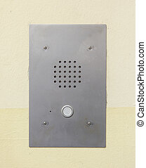 Intercom, electronic device for intercommunication -...