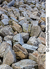 stones - a stack of natural stone located next to each...