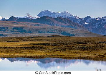 Denali highway - Landscapes on Denali highway.Alaska....