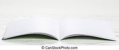 cuaderno, cuadrados