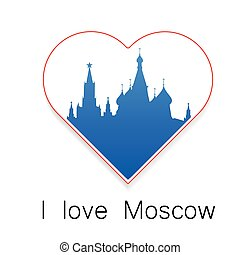 i love Moscow template
