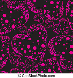 Saint Valentines Day - seamless pattern from hearts - Saint...