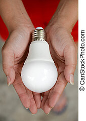 LED bulb - Energy in our hand2
