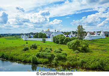 Convent of the Intercession, Suzdal, Russia - HDR Convent of...