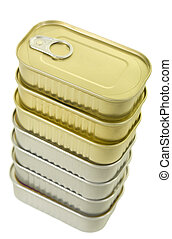 Stack of Canned Goods