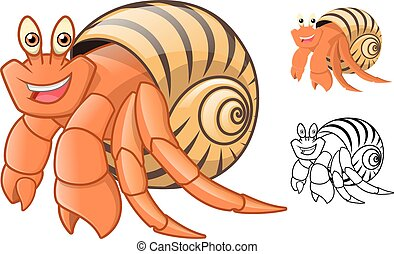 Hermit Crab Cartoon - High Quality Hermit Crab Cartoon...