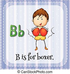 Alphabet B is for boxer