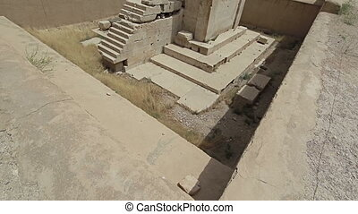 Cube of Zoroaster - Naqsh-e Rustams historical monument Cube...