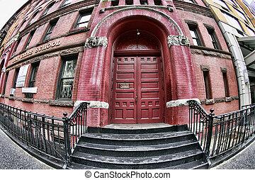Holy Cross Church - New York, NY, USA - October 10, 2012:...