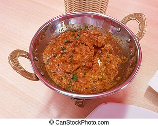 Indian Punjabi aubergine dish - Baingan Ka Bharta Baingan...