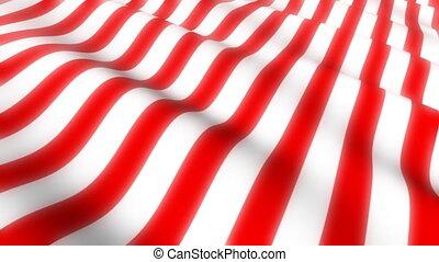 American Flag Wave Loop