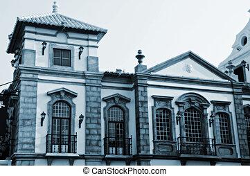 European antique house - An european antique house in Macau...
