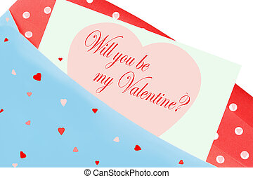 Will you be my valentine card - A romantic Will you be my...