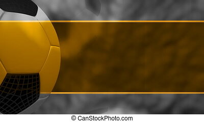 Template Style Soccer Loop One - Looping Animated Background