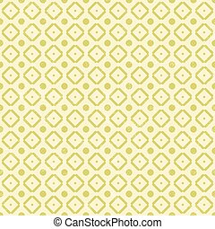 Pattern in retro style with dot