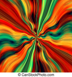 Abstract virtual background design Space art decor Time warp...