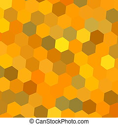 Abstract hexagon composition. Art. - Abstract hexagon...